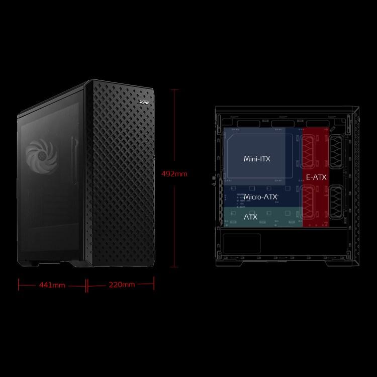 Prezentare carcasa XPG Defender Pro