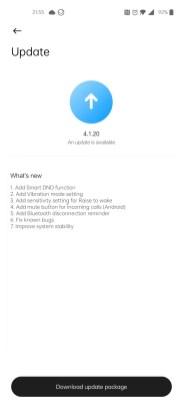 Xiaomi Mi Watch Lite update (2)