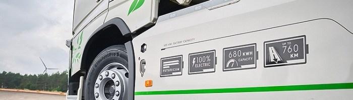 Record mondial stabilit de un camion electric