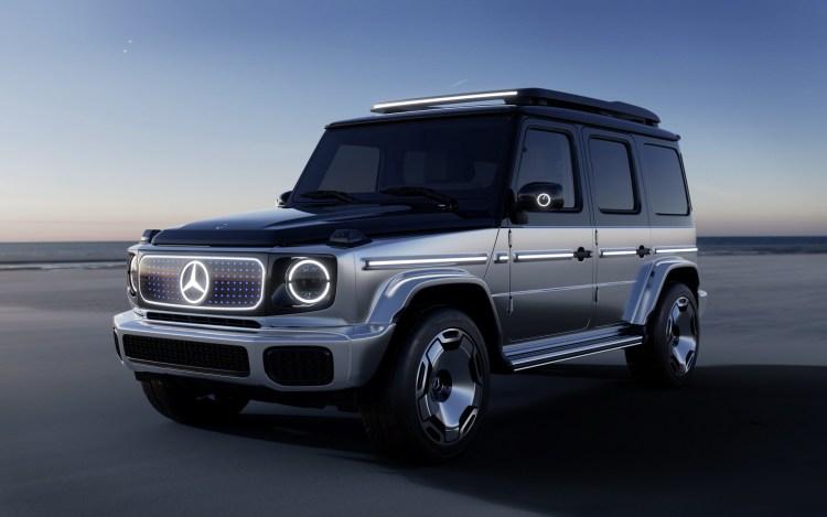Mercedes lanseaza EQG - este un G-Class electric