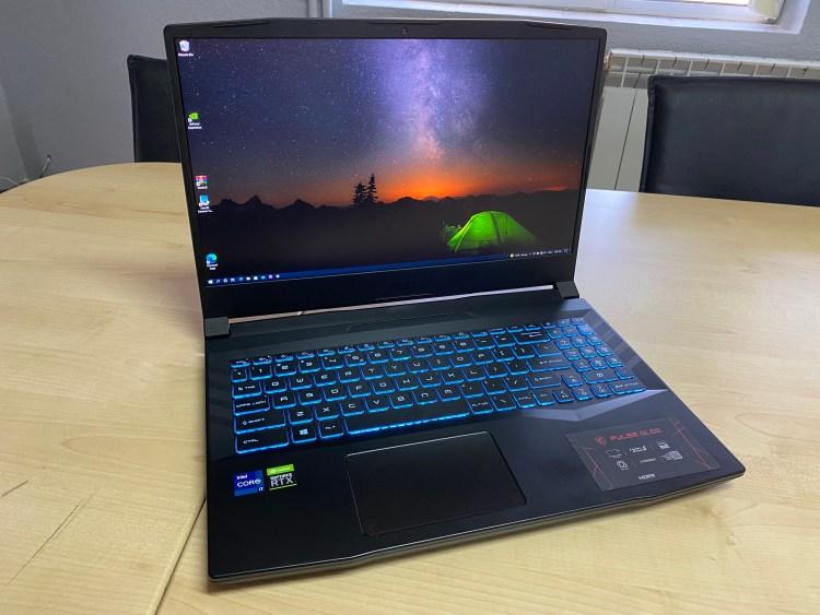 MSI Pulse GL66 - laptop de gaming cu RTX 3060 si i7-11800H