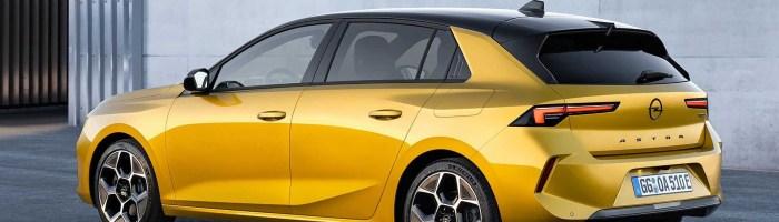 Opel lansează Astra EV în 2023