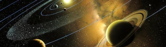 De ce planetele orbitează în jurul soarelui în același plan?