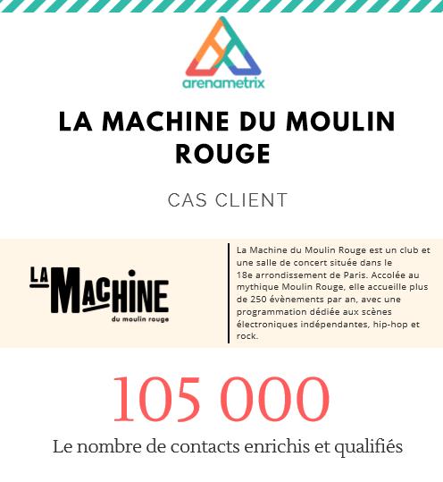 Témoignage client La Machine du Moulin rouge