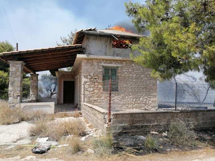 Αργολίδα: Πυρκαγιές σε Ερμιονίδα, Ηραίο και Ν. Κίο