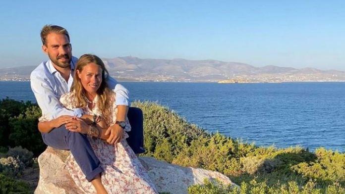 Στην Ελλάδα για διακοπές ο Φίλιππος Γλύξμπουργκ και η Nina Flohr