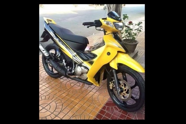 2016 Yamaha 125ZR Yellow (001)