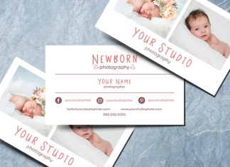 Photography Business Cards Templates