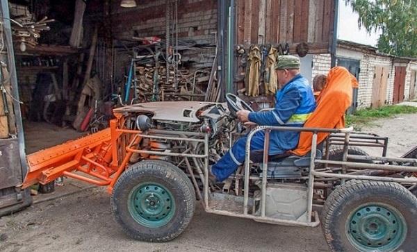 Шағын трактор