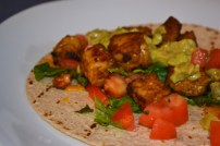 Tempeh Tacos with Avocado Lime Sauce