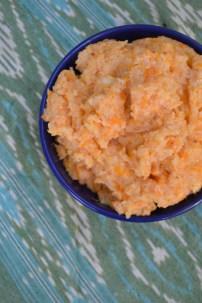 Sweet Potato and Smoked Gouda Grits