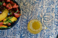 Harvest Peach and Cherry Summer Salad