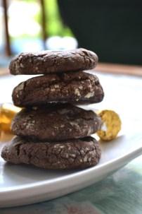 Rolo Crinkle Cookies