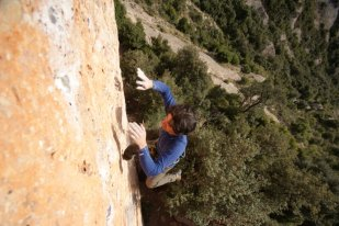 Vuelo en Montserrat - Foto Timo