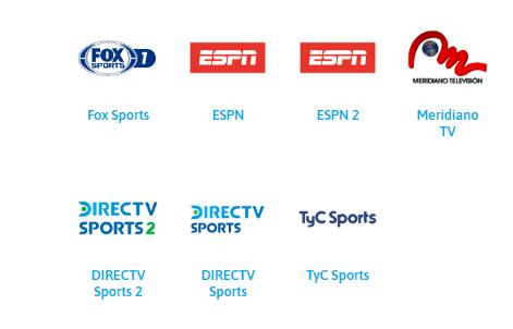 Plan mega HD simple TV canales deportivos