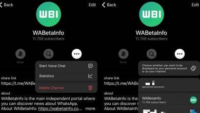 telegram chats de voz en canales