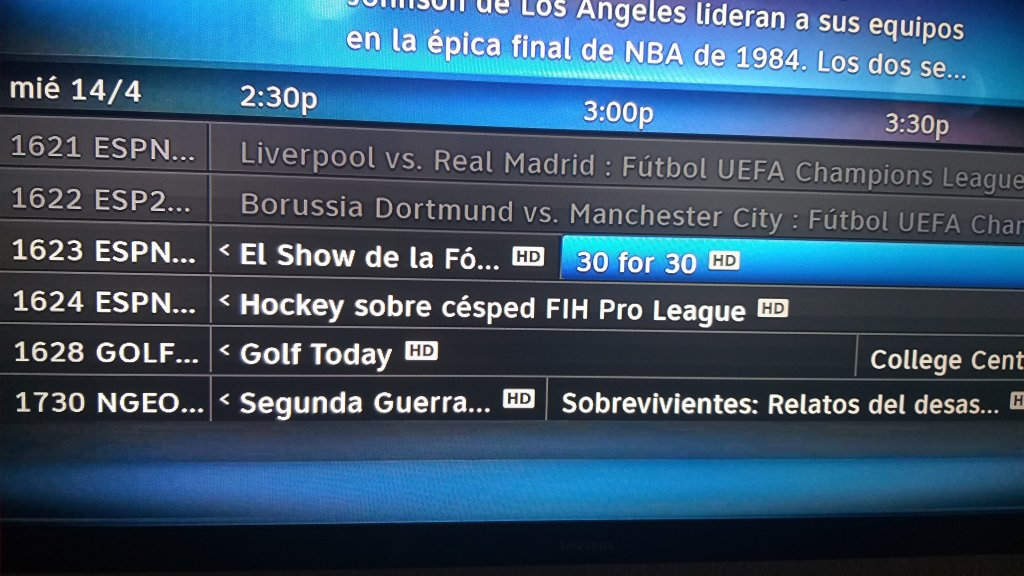 Nuevos canales HD para Simple TV ESPN HD Y ESPN 2 HD