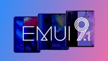 EMUI 9.1, 8 yeni model için yola çıktı