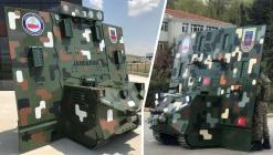 Türkiye'nin ilk insansız kara aracı: Robot Kalkan