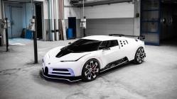 1600 beygirlik Bugatti Centodieci tanıtıldı
