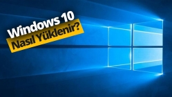 USB bellekten Windows 10 yükleme (Video)