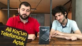 Ali Koç'un telefonu BlackBerry KEYone kutudan çıkıyor