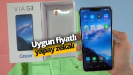 Casper VIA G3 kutu açılışı! (Video)