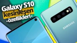 Galaxy S10 özellikleri ve fiyatı!
