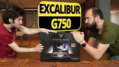 Excalibur G750 kutu açılışı! - 4K ekranlı oyun canavarı!