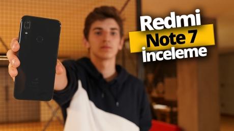 48 MP kameralı Redmi Note 7 inceleme!