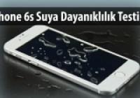 iPhone 6s Suya Dayanıklı mı?
