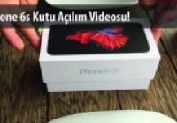 iPhone 6s Kutusundan Çıkıyor