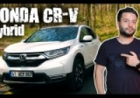 Honda CR-V Hybrid test sürüşü yaptık