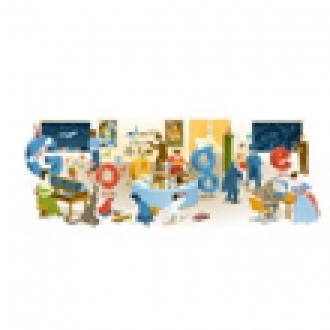 Google'dan 2012 Yılbaşı Gecesi Doodle'ı