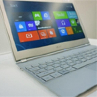 Acer Windows 8'li Ultrabook'ları Tanıttı