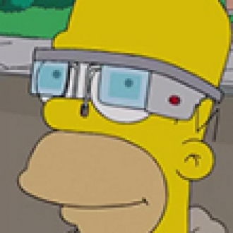 Google Glass, Simpsons'a Konu Oldu