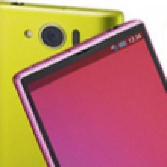 Sharp'dan IGZO Ekranlı Akıllı Telefon