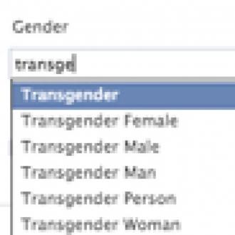Facebook'a Transseksüel Seçeneği Geldi