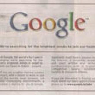 Google'da Çalışmak İster misiniz?