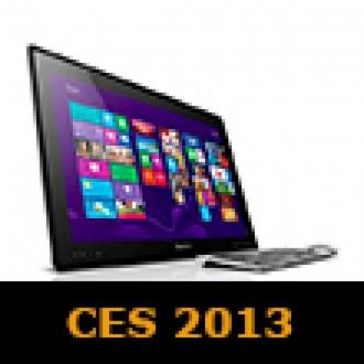 Lenovo CES 2013'te Büyük Oynuyor