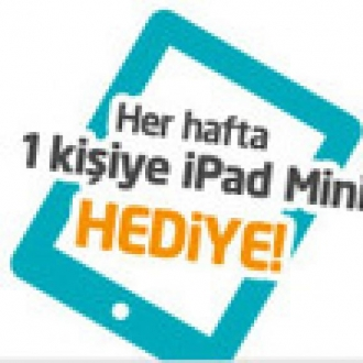 Avea'dan Her Hafta 1 iPad mini