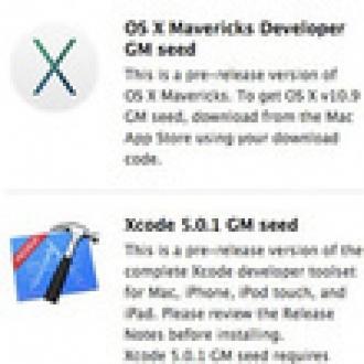 OS X Mavericks Golden Master Yayınlandı