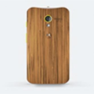 Motorola'dan Ahşap Telefon!
