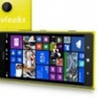 Nokia Lumia 1520'nin Fotoğrafı Gözüktü