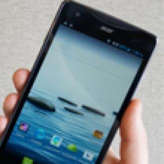 Acer'dan 5.7 İnçlik Yeni Akıllı Telefon!