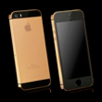 Altın Kaplamalı iPhone 5S Çıktı!
