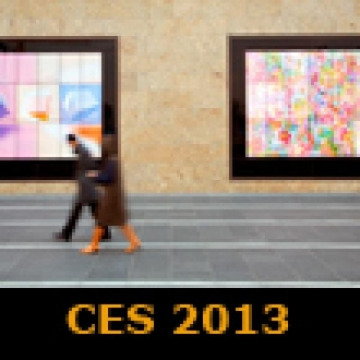 LG'nin 84 inçlik Dokunmatik Duvar Ekranı CES 2013'te