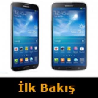 Samsung Galaxy Mega 6.3 Kutudan Çıkıyor