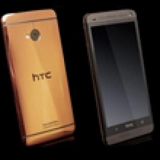 Altın Kaplamalı HTC One Satışa Sunuldu