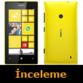 Nokia Lumia 520 Video İnceleme